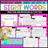 Sight Word Activity Book