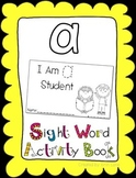 """Sight Word Activity Book: """"A"""""""
