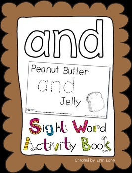 "Sight Word Activity Book: ""And"""
