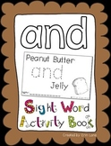 """Sight Word Activity Book: """"And"""""""