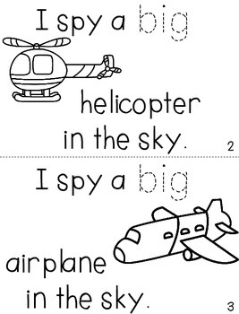 "Sight Word Activity Book: ""Big"""