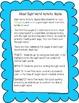 "Sight Word Activity Book: ""Blue"""