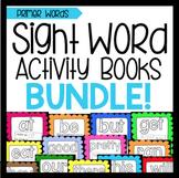 Sight Word Activity Book Bundle: Primer Words