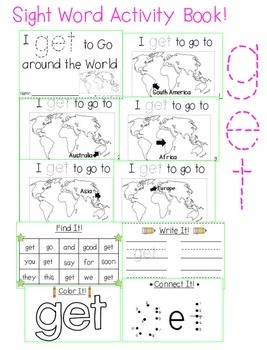 "Sight Word Activity Book: ""Get"""