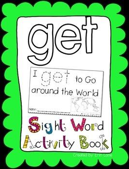 "Sight Word Activity Book: ""Get"""