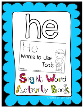 "Sight Word Activity Book: ""He"""