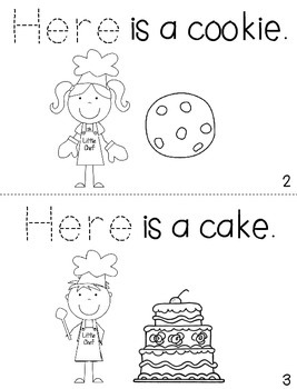 """Sight Word Activity Book: """"Here"""""""