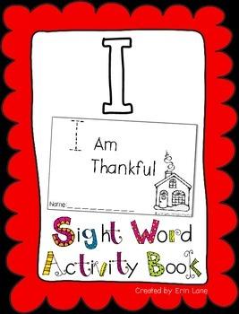 """Sight Word Activity Book: """"I"""""""