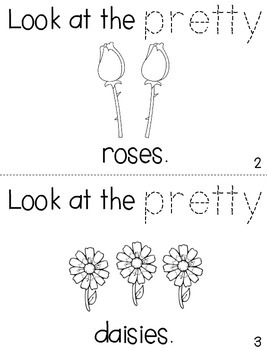 "Sight Word Activity Book: ""Pretty"""