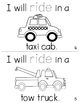 "Sight Word Activity Book: ""Ride"""