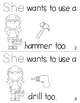 "Sight Word Activity Book: ""She"""