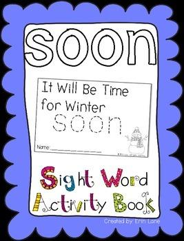 "Sight Word Activity Book: ""Soon"""