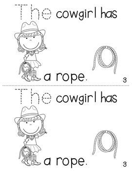 "Sight Word Activity Book: ""The"""