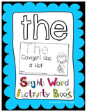 """Sight Word Activity Book: """"The"""""""