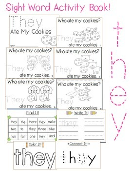 "Sight Word Activity Book: ""They"""