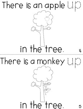"""Sight Word Activity Book: """"Up"""""""