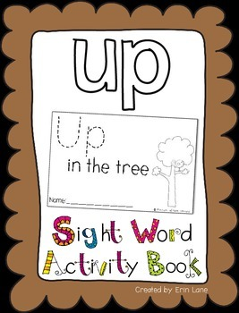"Sight Word Activity Book: ""Up"""