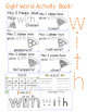 "Sight Word Activity Book: ""With"""