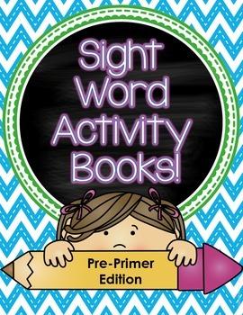 Sight Word Activity Books (Pre-Primer)