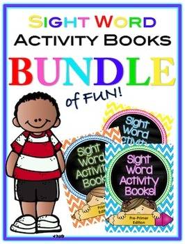 Sight Word Activity Books (BUNDLE)