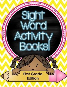 Sight Word Activity Books (First Grade)