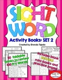 Sight Word Activity Books, Set 2: Fry Words 101-200 EDITABLE