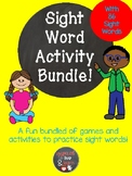 (SIPPS) Sight Word Activity Bundle