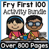 Sight Word Activity Bundle - Fry First 100