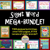 Sight Word Activity MEGA BUNDLE