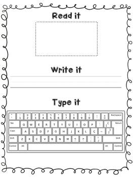 Sight Word Activity Mats (Word Work)