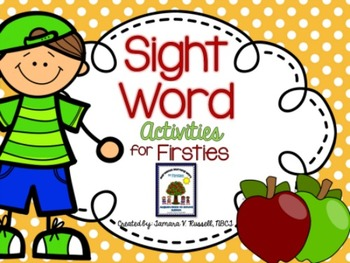 Sight Word Activity Pack: AUGUST {Marvelous Morning Work f