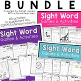 Sight Word Activity Pack BUNDLE