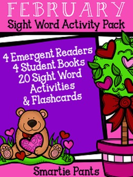 Sight Word Activity Pack - February