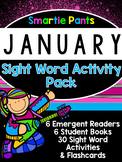 Sight Word Activity Pack - January