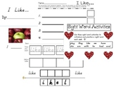 SIGHT WORD CENTERS- 11 SIGHT WORD BOOKS, POCKET CHARTS, AND INDEPENDENT PRACTICE