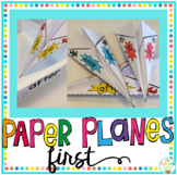 Sight Word Activity Paper Planes First Grade