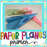 Sight Word Activity Paper Planes Primer