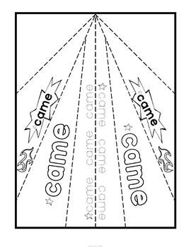 Sight Word Activity Paper Planes Primer