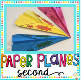 Sight Word Activity Paper Planes Second Grade
