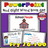 Sight Word Activity - PowerPoint & Emergent Reader Bundle Fry Sight Words 76-100