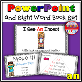 Sight Word Activity - PowerPoint and Emergent Reader for the sight word AN