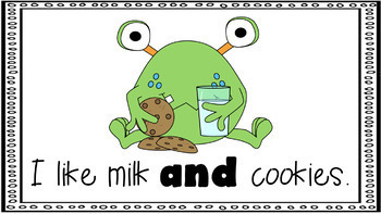 Sight Word Activity - PowerPoint and Emergent Reader for the sight word AND