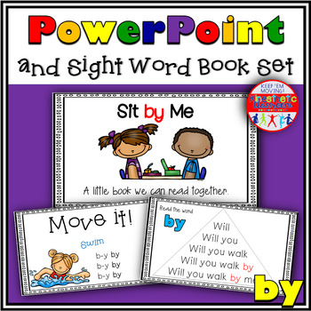 Sight Word Activity - PowerPoint and Emergent Reader for the sight word BY