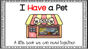Sight Word Activity - PowerPoint and Emergent Reader for the sight word HAVE