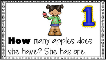 Sight Word Activity - PowerPoint and Emergent Reader for the sight word HOW
