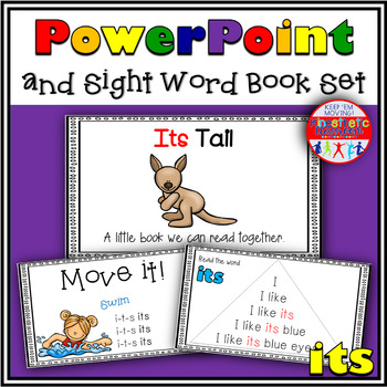 Sight Word Activity - PowerPoint and Emergent Reader for the sight word ITS