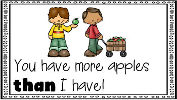 Sight Word Activity - PowerPoint and Emergent Reader for the sight word THAN