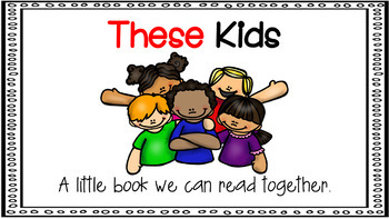 Sight Word Activity - PowerPoint and Emergent Reader for the sight word THESE