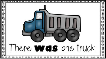Sight Word Activity - PowerPoint and Emergent Reader for the sight word WAS