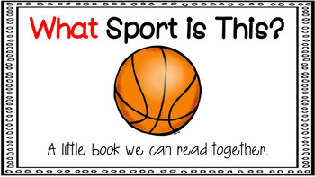 Sight Word Activity - PowerPoint and Emergent Reader for the sight word WHAT